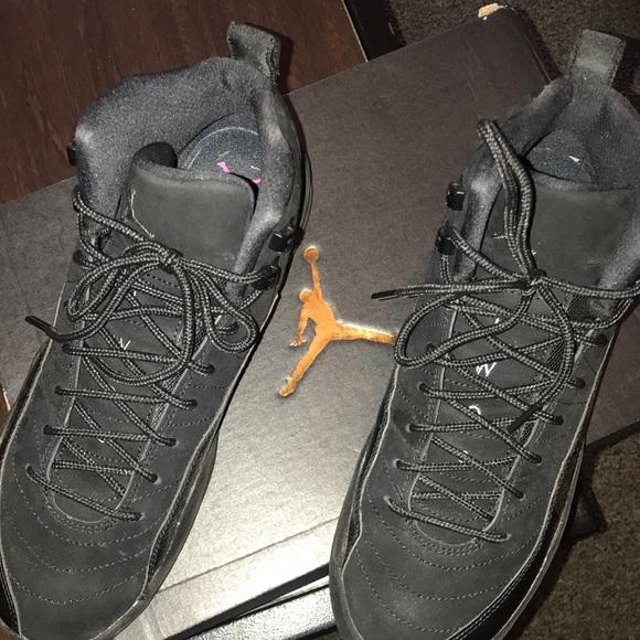 Jordan Shoes   Size 75 Black Air 12